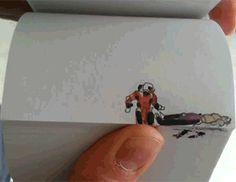 Parting Shot: Mortal Kombat Flip Books Right An 'Injustice' (Get It?)