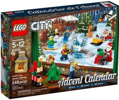 LEGO City Advent Calendar 60155 Building Kit 248 Piece for sale online Lego Advent Calendar, Advent Calendars, Christmas Presents For Boys, Gifts For Kids, Lego Christmas, Christmas Gifts, Christmas 2015, Christmas Ideas, Advent Activities