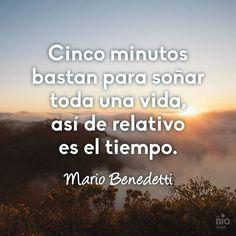 #Mario Benedetti #Tiempo #Frases #Quotes