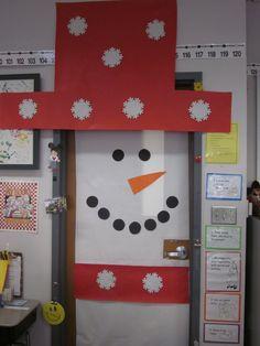 A cute winter door