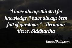 Siddhartha essay quotes