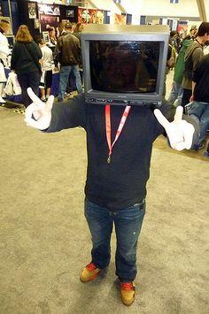 TV head  Wondercon 2010