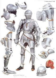 15th Century plate armor