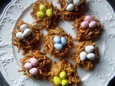 bird nest cookies
