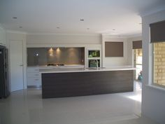 Kitchen with neutral taupe tones
