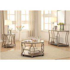 Beautiful Collection; Coffee Table, End Table, Sofa Table