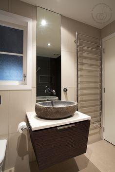 Heated Ladder Rail | Organic Bathroom | Du Bois Design Ltd