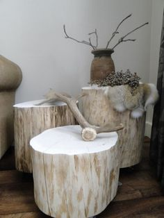 Living Room Lounge, Living Room Decor, Stump Table, Art Furniture, Wood Art, Wood Projects, Diy Home Decor, Amazon, Decoration
