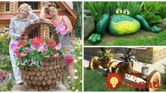 33 krásnych nápadov do záhrady a na terasu, ktoré nestoja nič! Outdoor Fun, Yard Art, Projects To Try, Plants, Gardening, Balcony, Lawn And Garden, Garden Art, Plant