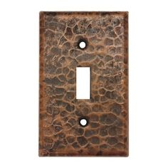 $17.40 Shop Premier Copper Products Premier Copper Toggle Cover Switch Plate at ATG Stores. Browse our wall plates, all with free shipping and best price guaranteed.