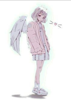 Ideas drawing anime angel art – Art World 20 Cute Anime Pics, Anime Girl Cute, Kawaii Anime Girl, Kawaii Art, Anime Art Girl, Anime Girls, Anime Drawing Styles, Manga Drawing, Manga Art
