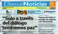 Últimas Noticias Vargas sábado 25 de junio de  2016