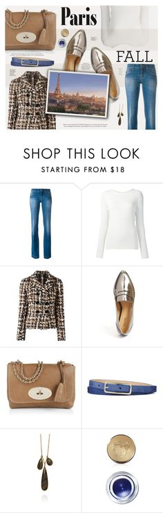 """""""I Love Paris In the Fall"""" by katarina-blagojevic ❤ liked on Polyvore featuring Dolce&Gabbana, Maiyet, MICHAEL Michael Kors, Mulberry, Argento Vivo and Bobbi Brown Cosmetics"""