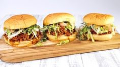 Slow Cooker Asian BBQ Chicken Sammies Recipe by Clinton Kelly - The Chew