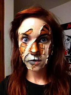 diamond death halloween makeup beauty photos and celebrity - Girl Halloween Masks
