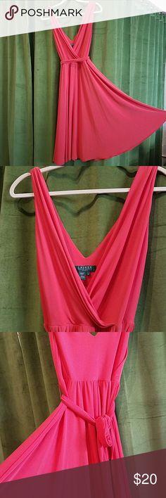 Lauren by Ralph Lauren Dress Orange Tie Dress Lauren Ralph Lauren Dresses