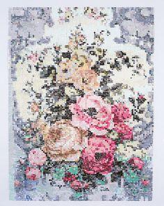 Embroidery Paintings — Kirstin Lamb