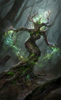 Green-Touched Spriggan is a creature card in The Elder Scrolls: Legends. Appearances The Elder Scrolls: Legends Dark Fantasy Art, Fantasy Artwork, Fantasy World, Forest Creatures, Mythical Creatures Art, Magical Creatures, Dark Creatures, Fantasy Monster, Monster Art