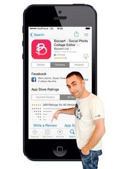 5 stars for Bazaart! - Stas Goferman @Bazaart