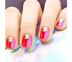 cute nail.