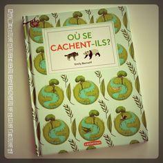 Livre d'activité enfants - Où se cachent-ils - Editions Casterman