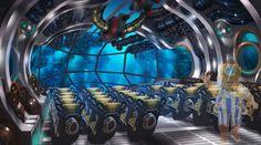 Theme Park Concept Art on Behance