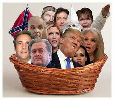 Basket full of deplorables... Unfortunately, this basket isn't nearly large enough ;)