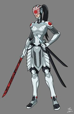Katana redesign commission by phil-cho