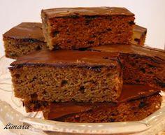 Hungarian Recipes, Sweet Cakes, Creative Food, Gourmet Recipes, Ham, Banana Bread, Bakery, Muffin, Food And Drink
