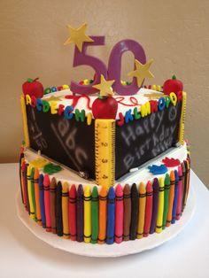 50th Teacher's Cake