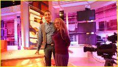 Samen met Jorgen Raymann tijdens uitzending 5op2