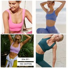 Athletic Outfits, Daily Look, Workout Gear, Sportswear, Free People, Shop My, App, Free Shipping, Fitness