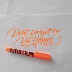 Brushpen Lettering Set 5 on Behance