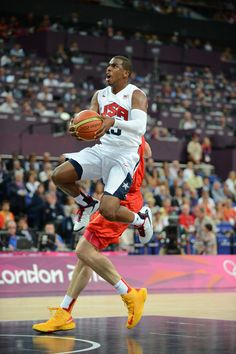 Chris Paul in Gold Medal game against Spain