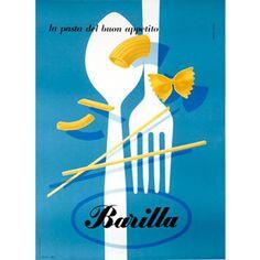 Vintage Italian advertising poster