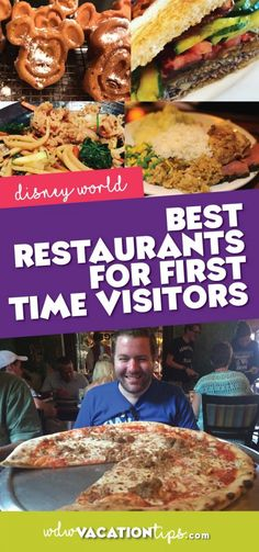 There is no better way to start planning your trip than planning out where what to eat at Disney World! Whether you're using the Disney Dining Plan or not food options are always an essential part of planning for any vacation. Here is our recommendation of the best Disney World restaurants for first time visitors.