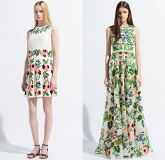 Valentino 2014 Resort Womens Presentation - Cruise Collection Pre Spring: Designer Denim Jeans Fashion: Season Collections, Runways, Lookbooks and Linesheets