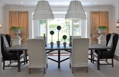 dining room by Brooke Giannetti