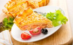 Sprawdzony i polecany przepis na quiche z łososia wędzonego firmy Suempol.