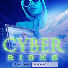 Email Graphic: Cyber Risks Theme Brand Management, Creative Director, Cyber, Creativity, Marketing, Movie Posters, Fictional Characters, Branding, Film Poster