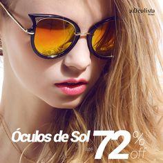 Até 72% de desconto nos óculos de sol, aproveite!  #aoculista #glasses #sunglasses #eyeglasses #oculos