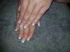 French fade acrylic nails