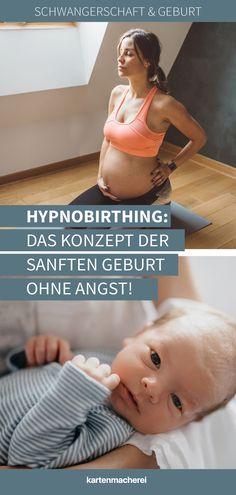 Hypnobirthing: Geburtsvorbereitung für eine sanfte Geburt ohne Angst. Du möchtest die Geburt deines Kindes ohne Angst, chemische Schmerzmittel und ganz bewusst erleben? Dann könnte Hypnobirthing, das Konzept der sanften Geburt etwas für dich sein. Erfahre im Magazin, was du in einem Hypnobirthing-Kurs lernst, welche Vorteile Hypnobirthing hat und wie du dich so auf die Geburt entspannt vorbereiten kannst. #kartenmacherei Matter Quotes, Prenatal Yoga, Parenting Teens, Baby Bumps, How To Lose Weight Fast, Birth, Baby Kids, Fitness Motivation, Pregnancy
