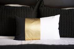 Color block Pillow DIY