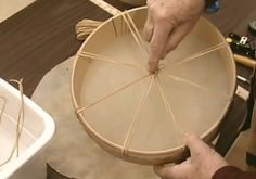 How to Make a Native American Hand Drum - PowWows.com - Native American Pow Wows