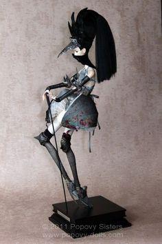 Popovy Dolls, Garter collection, Blue Bird
