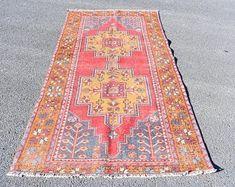 Turkish rug Oushak rug Vintage rug Turkey rug by turkishrugstar Boho Decor, Bohemian Rug, Rustic Decor, Rustic Rugs, Aztec Rug, Black Rug, Large Rugs, Rugs In Living Room, Colorful Rugs