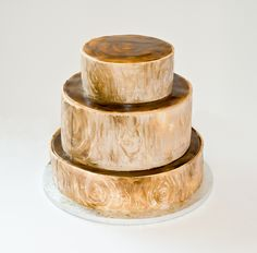 wood cake Wood Cake, Napkin Rings, Barware, Home Decor, Decoration Home, Room Decor, Home Interior Design, Napkin Holders, Home Decoration