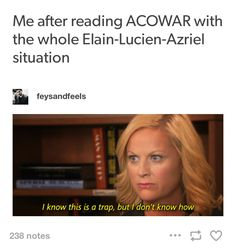 I hate what happened with Mor!! She and Azriel belong together!!