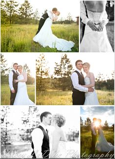 bride and groom posing | LaDuke Photography